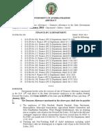 New Da d.a. From Jan 2011 5.136 - 29.96 AP Govt. Employees