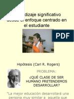 51834390 Aprendizaje Significativo Centrado en El Estudiante Carl Rogers 1