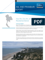 Hua Hin Cha Am Pranburi Residential Report May 2011 | Colliers International Thailand