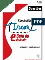SIMULADO DE MATEMÁTICA ISAM