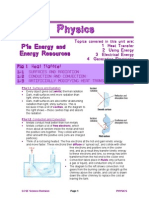 Gcse Core Physics Revision Guide