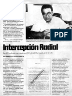 Intercepción radial