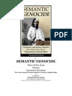Semantic Genocide