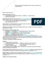 CIS Psych Exam Three Study Guide
