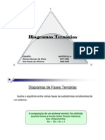 Diagramas Ternários
