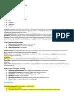 CIS Psych Final Exam Study Guide