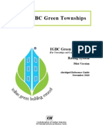 IGBC Green Townships Rating System - Pilot, Nov 2010