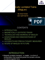 Maglev(Magnetically Levitated Trains)