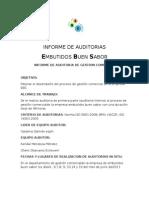 INFORME DE AUDITORIAS 2