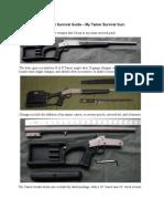 A Long-Term Survival Guide - My Tamer Survival Gun