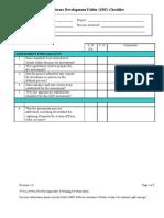 Software Development Folder