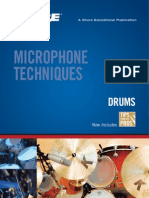 Us Pro Mic Techniques Drums Ea