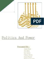Politics and Power