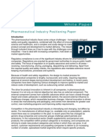 8-Pharmaceutical White Paper