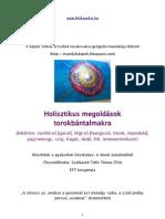 Holisztikus megoldások torokbántalmakra e-book részletek