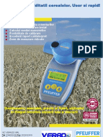 Masurarea umiditatii cerealelor HElite de la Pfeuffer