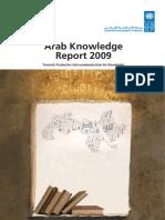 UNDP- RAM Foundation Arab Knowledge Development Report 2009