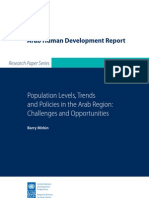 Barry Mirkin  Population Levels,Trends and Policies in the Arab Region
