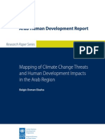 Balgis Osman Elasha, Mapping of Climate Change Threats and Human Development Impacts in the Arab Region, AHDR Research Paper Series, n°2