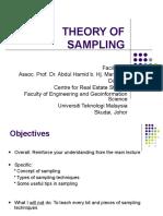 050 Sampling Theory