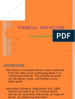 Financial Derivatives - Vishnu