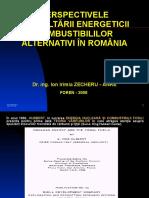 Perspectivele Dezvoltarii Energeticii Combustibililor Alternativi in Romania
