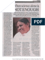Amma's Visit to Pune Dr. Vijay Bhatkar's Article March 2011(1)