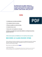 Tips to Become Star
