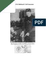 Alfred Hubbard Coil Generator