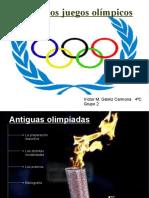 Antiguos juegos olímpicos