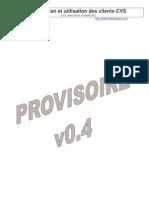 Installation Et Utilisation Des Clients CVS-v4