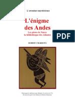Aventure Mystérieuse Robert Charroux L'Enigme des Andes. - Copie