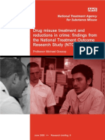 Nta Drug Treatment Crime Reduction Ntors Findings 2005 Rb8
