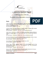 Women Ancient Egypt Books