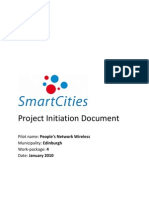 Smart Cities Edinburgh WP4