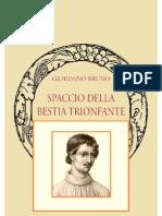 Giordano Bruno Spaccio Della Bestia Trionfante