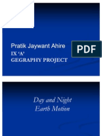 Pratik Geography Project