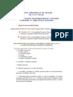 Sinteza Privind Reglementarile Contabile Conforme Cu Directivele Europene