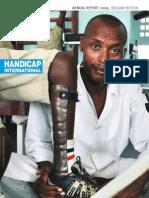 Annual Rapport Handicap International