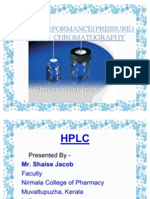 VACUUM LIQUID CHROMATOGRAPHY PRINCIPLE PDF - A Reversed
