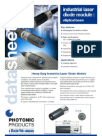 photonic products industrial laser modules