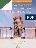 VVAA. Tratamientos conserv. pétreos construcciones históricas. 2007