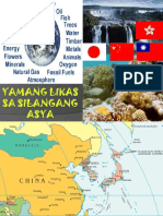 Yamang Likas Sa Silangang Asya