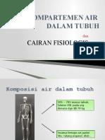 Kompartemen Air Dalam Tubuh Dan Cairan Fisiologis
