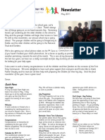 June Newsletter 2011