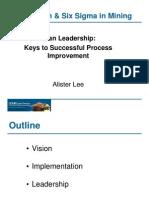 Presentation - Alister Lee