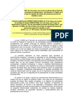 Orden FAM-657 -2005 Actividades Tiempo Libre Con Modificacion