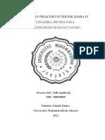Dinamika Proses - Praktikum Teknik Kimia IV - Zeffa Aprilasani