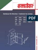 Katalog / Catalogue OW, ZN, LUKA - 2011 - De-En