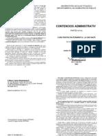 Contencios Administrativ BOOK
